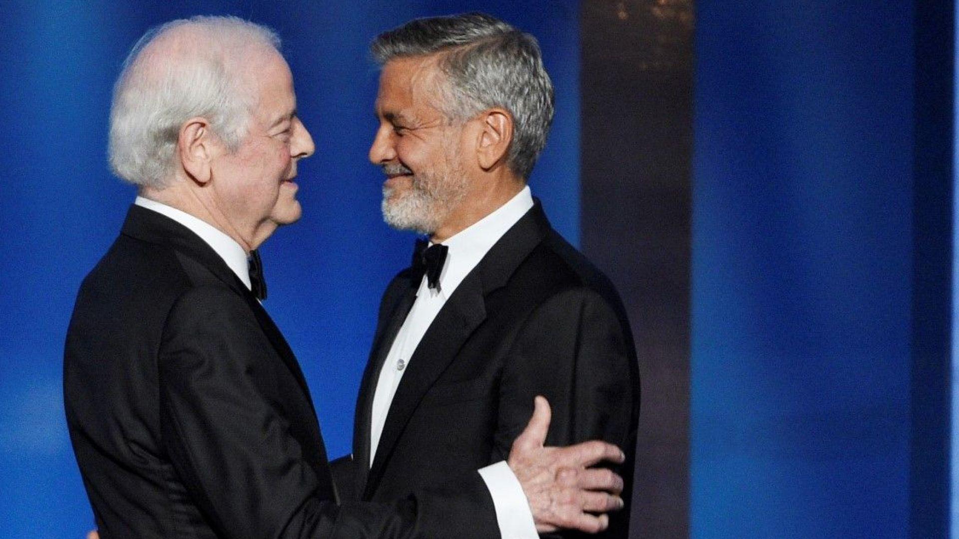 Джордж Клуни получи почетната награда в присъствието на баща си (снимки)