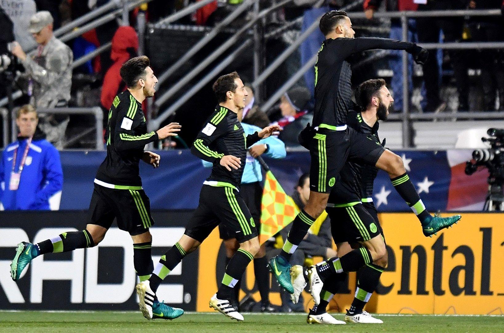 Мексико бе безмилостен в квалификациите отново