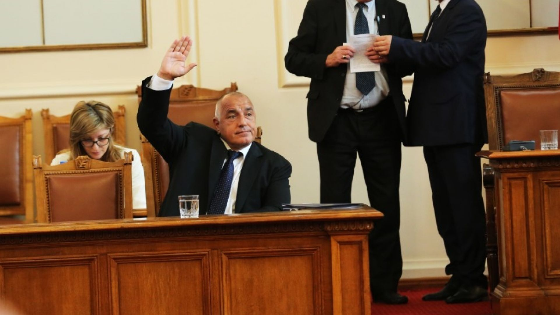 Борисов на парламентарен контрол