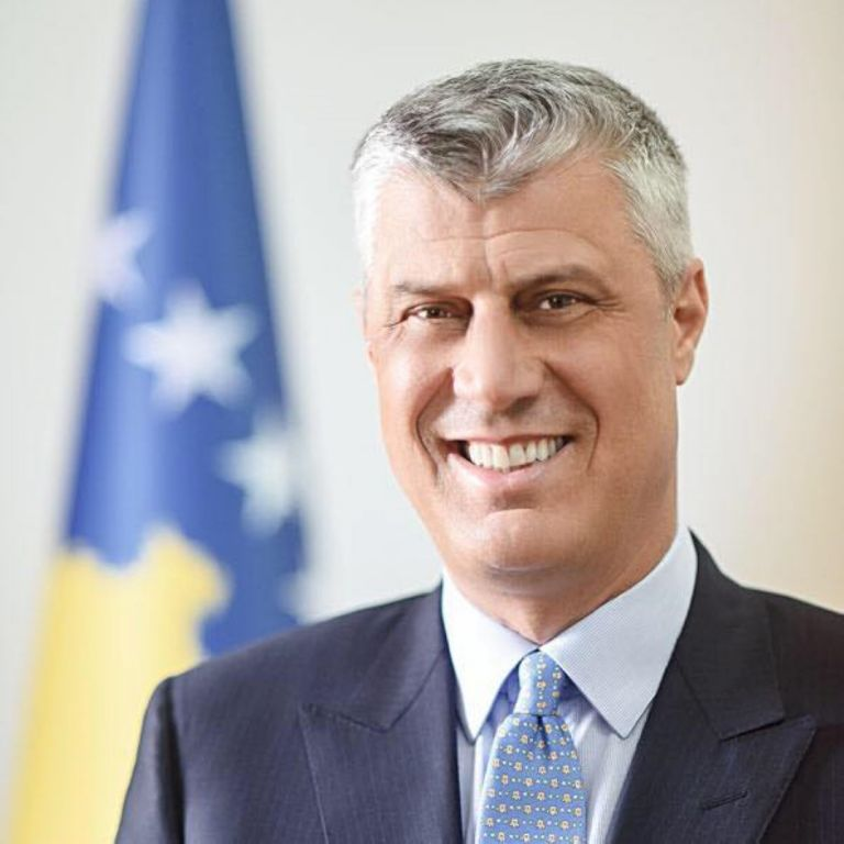 Хашим Тачи, президент на Косово