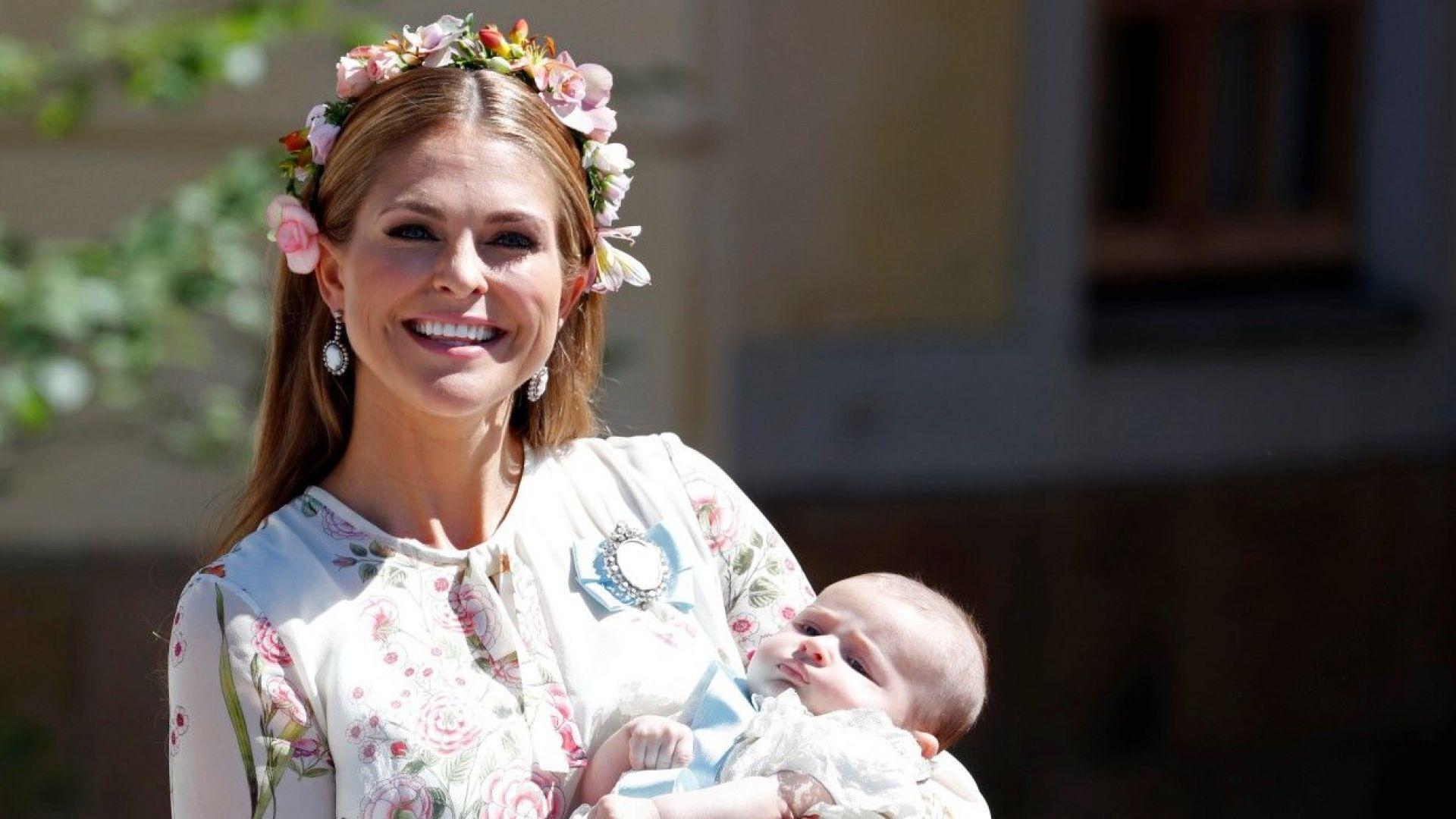Шведската принцеса Маделин се мести със семейството си в САЩ