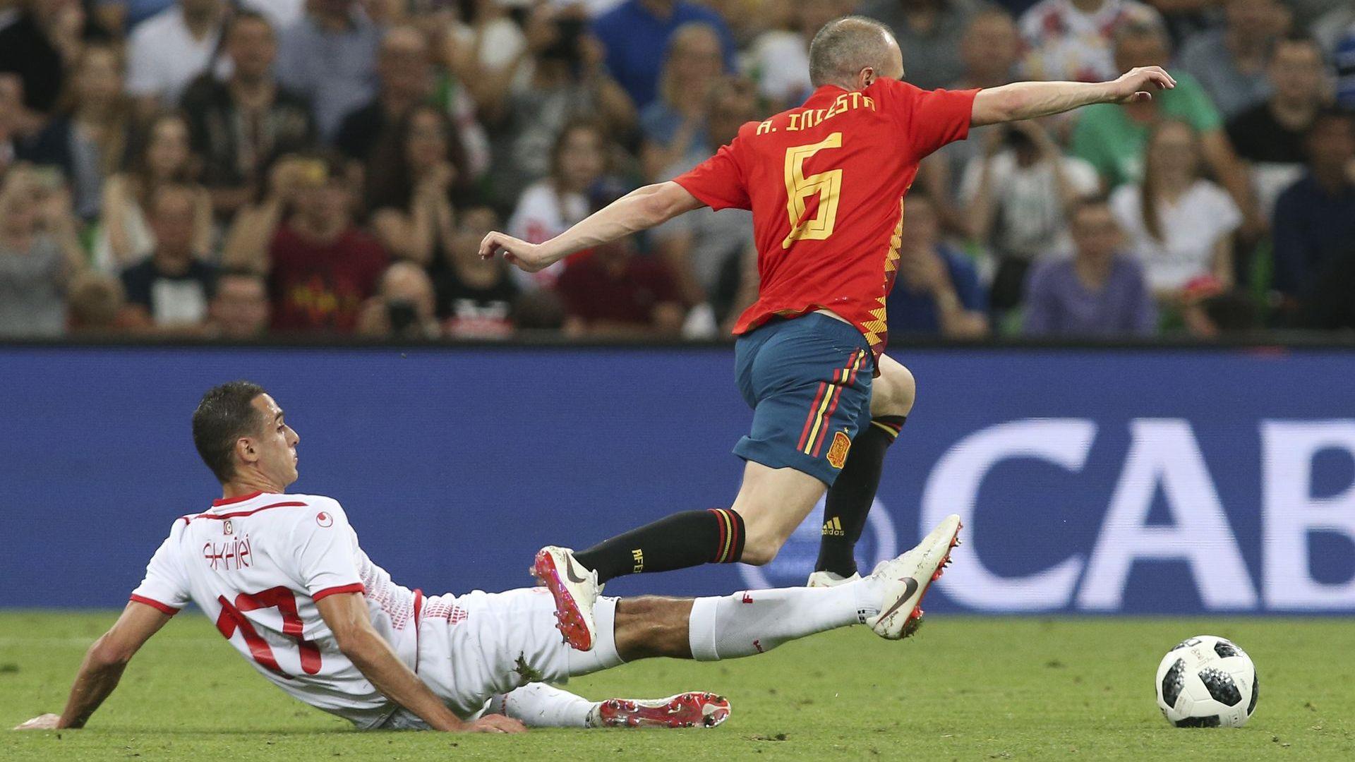 Испания влезе в Мондиала с 20-и пореден мач без загуба