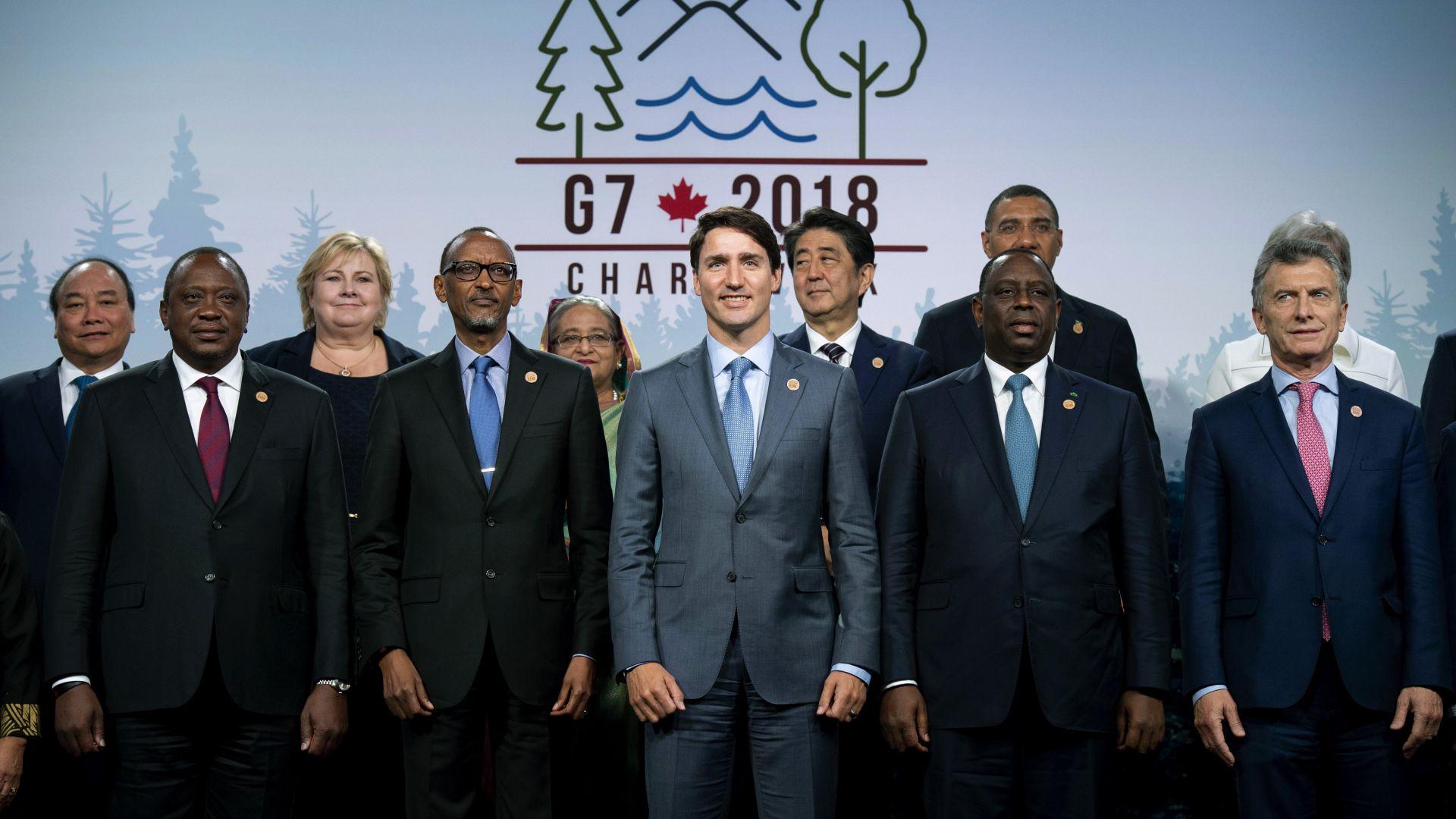 Г-7 заклейми протекционизма, но призова за реформиране на СТО