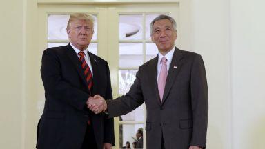 Тръмп преди срещата с Ким:  Вълнението е във въздуха