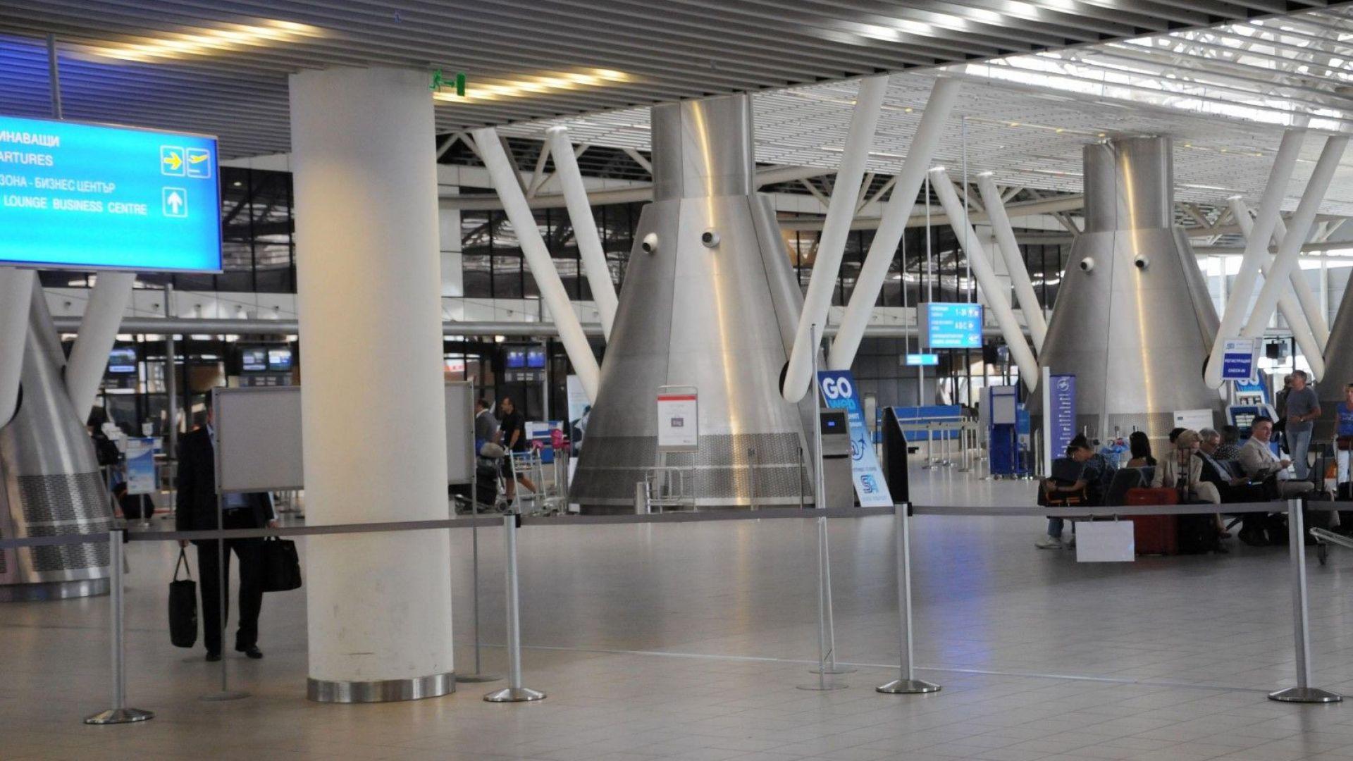 """Уволниха служител на летище """"София"""", допуснал ливанци да минат без проверка"""
