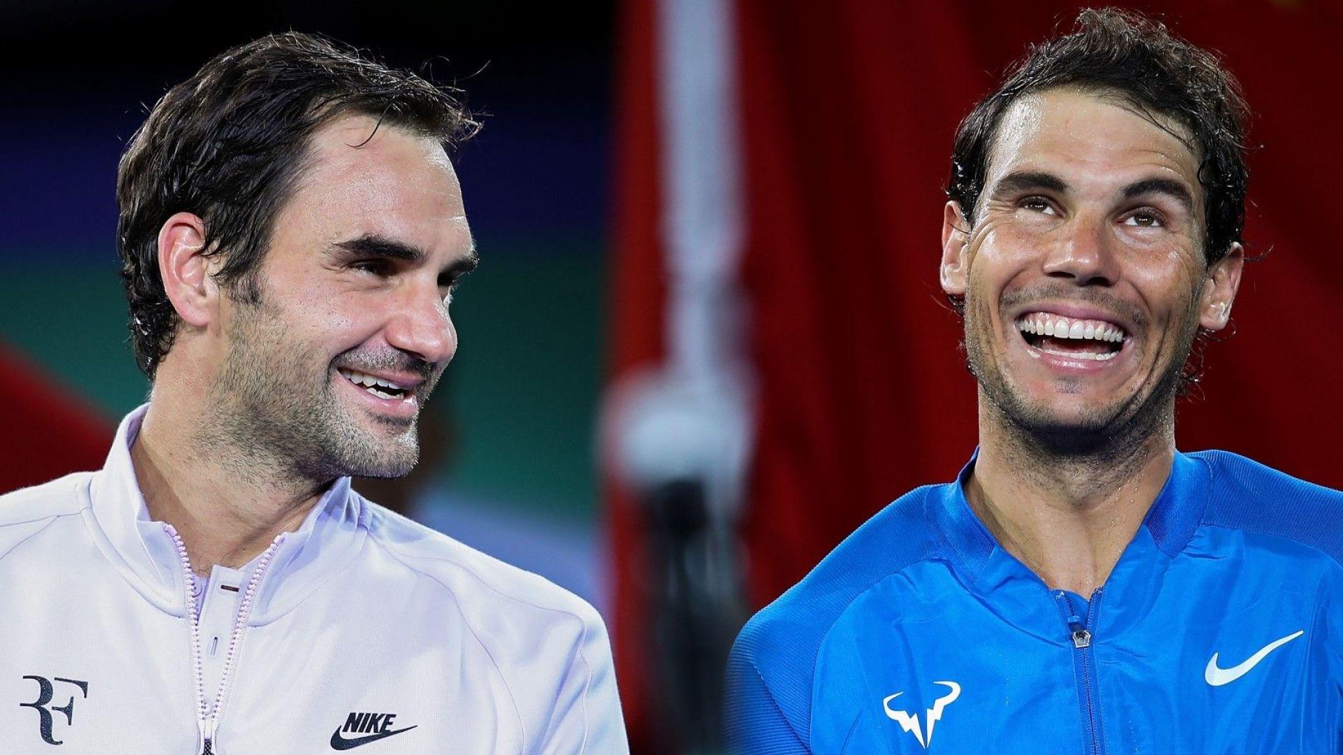 Надал и Федерер чупят световен рекорд с исторически мач