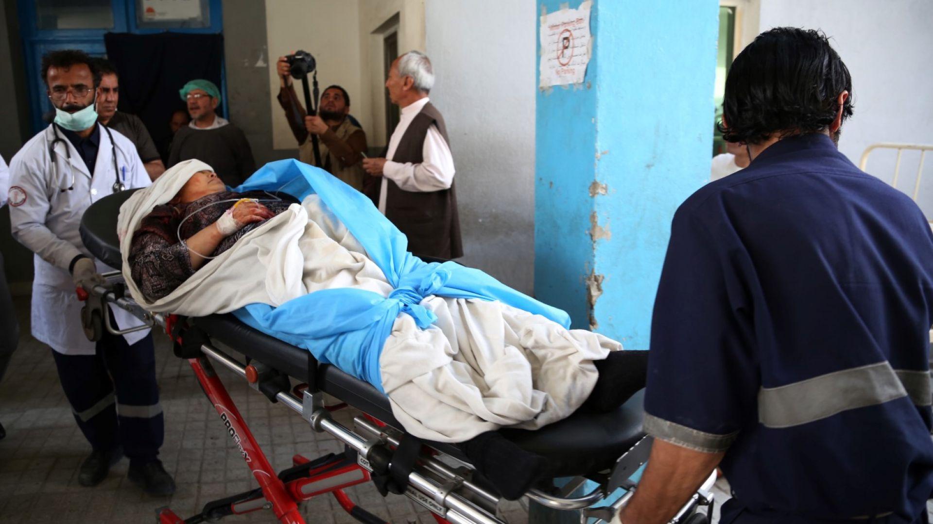 Загинали и ранени при самоубийствен атентат на ИД в Кабул
