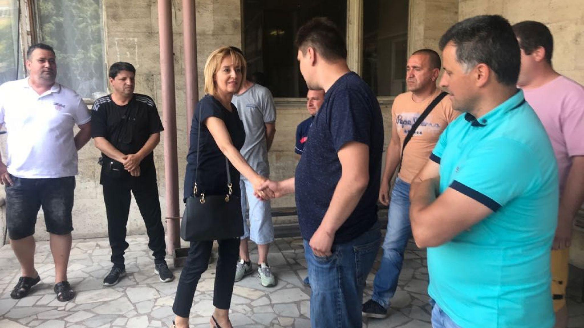 Манолова иска среща с председателя на парламента за кризата с пенсионирането на миньорите от Бобов дол