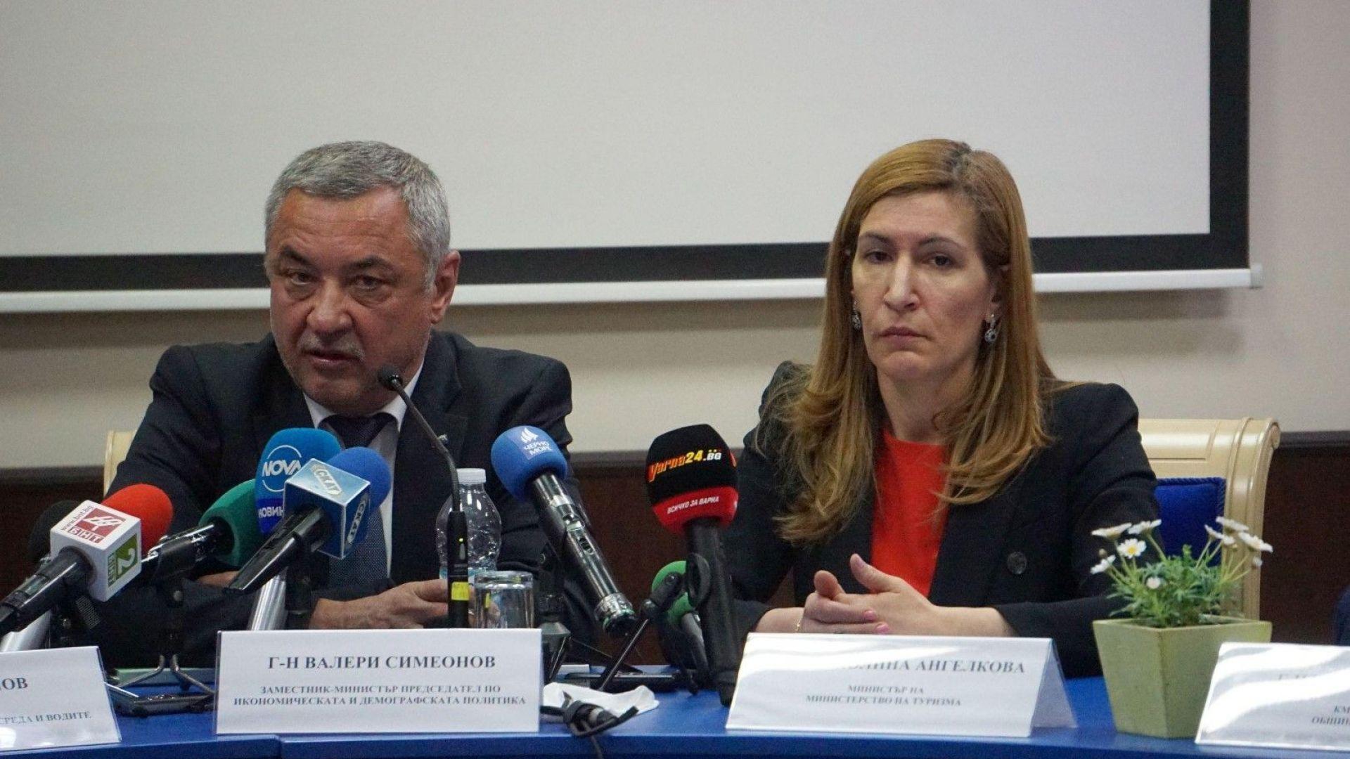"""Симеонов """"с впечатлението"""", че Ангелкова защитава интересите на групировки"""