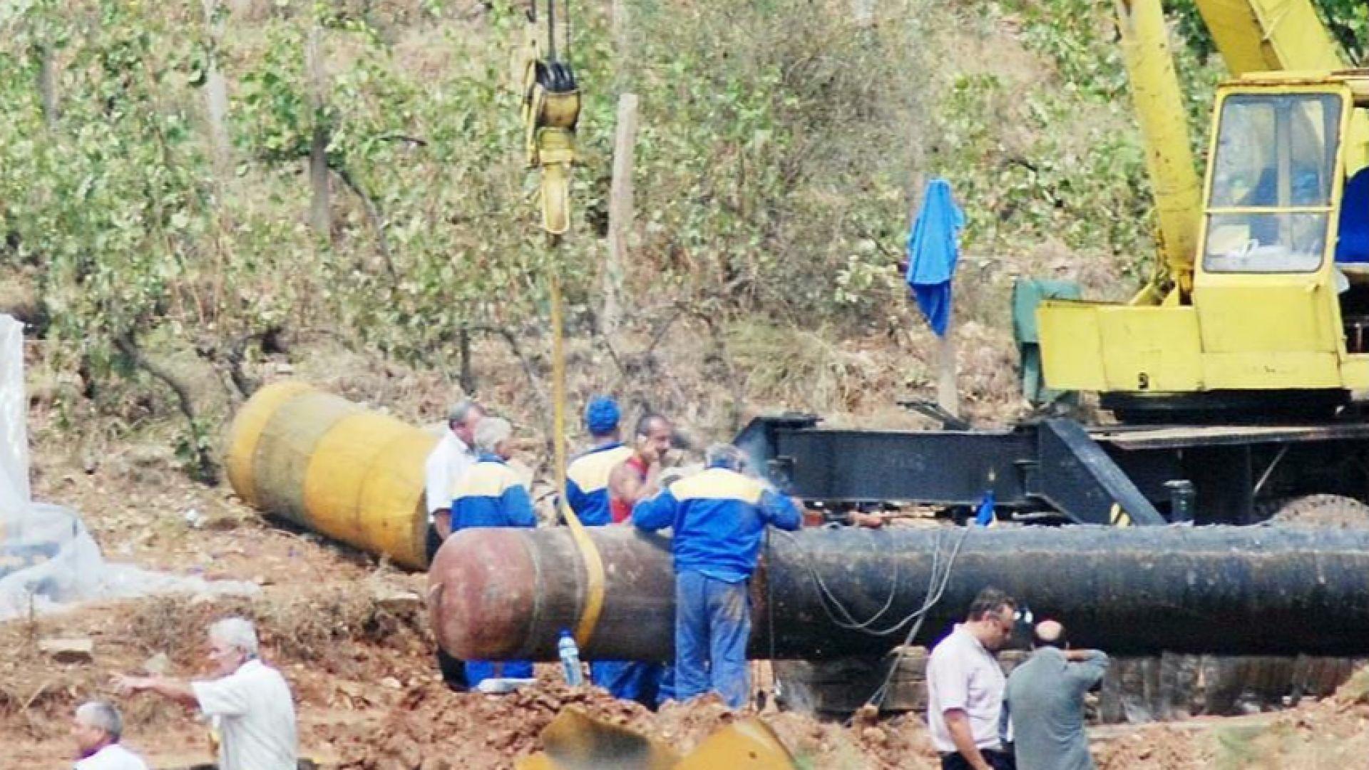 Газовата връзка с Гърция под въпрос заради жалба