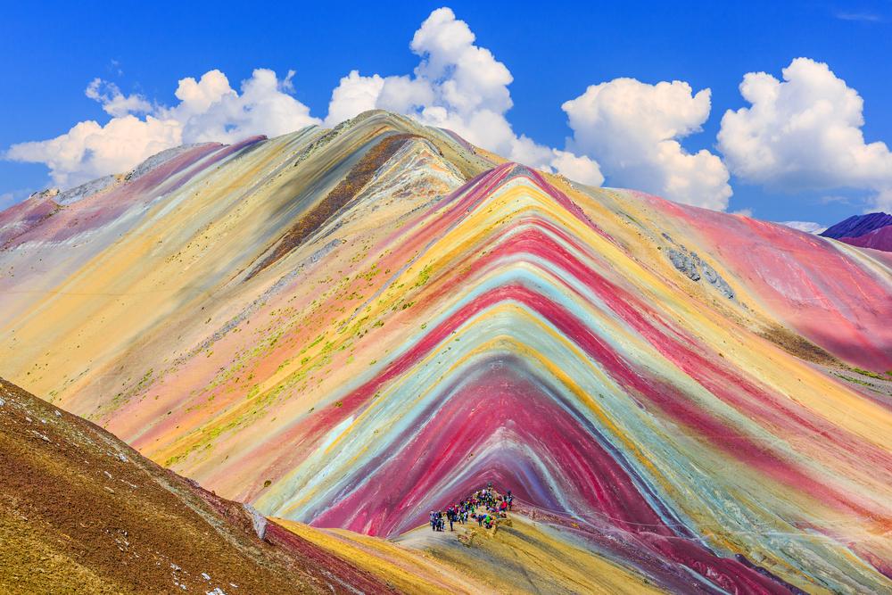 Планината на дъгата в Перу (снимки)