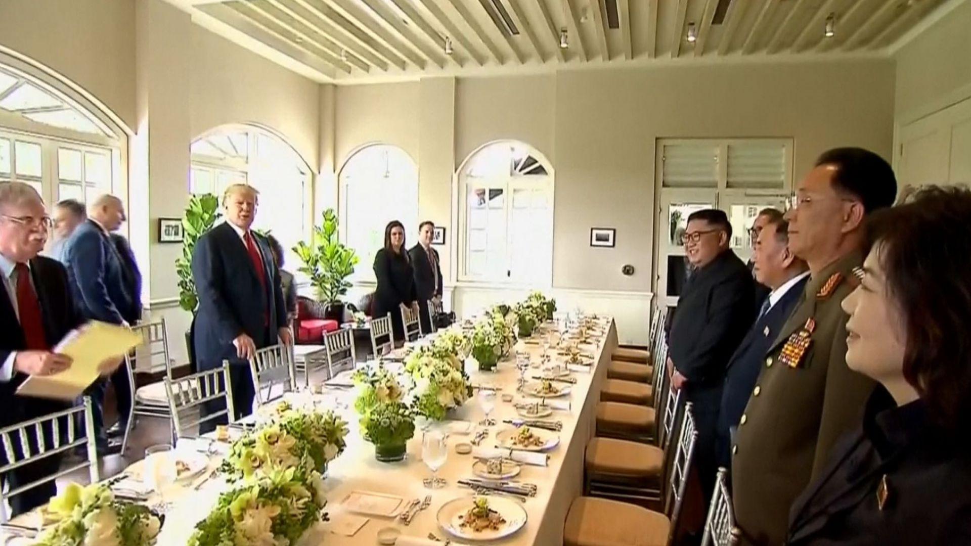 Западно и източно меню за обяда на Ким и Тръмп