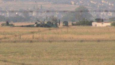 Двама военни са загинали, един е оцелял при катастрофата с хеликоптер