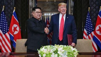 Тръмп прие пратеник на Северна Корея, договори втора среща с  Ким Чен-ун