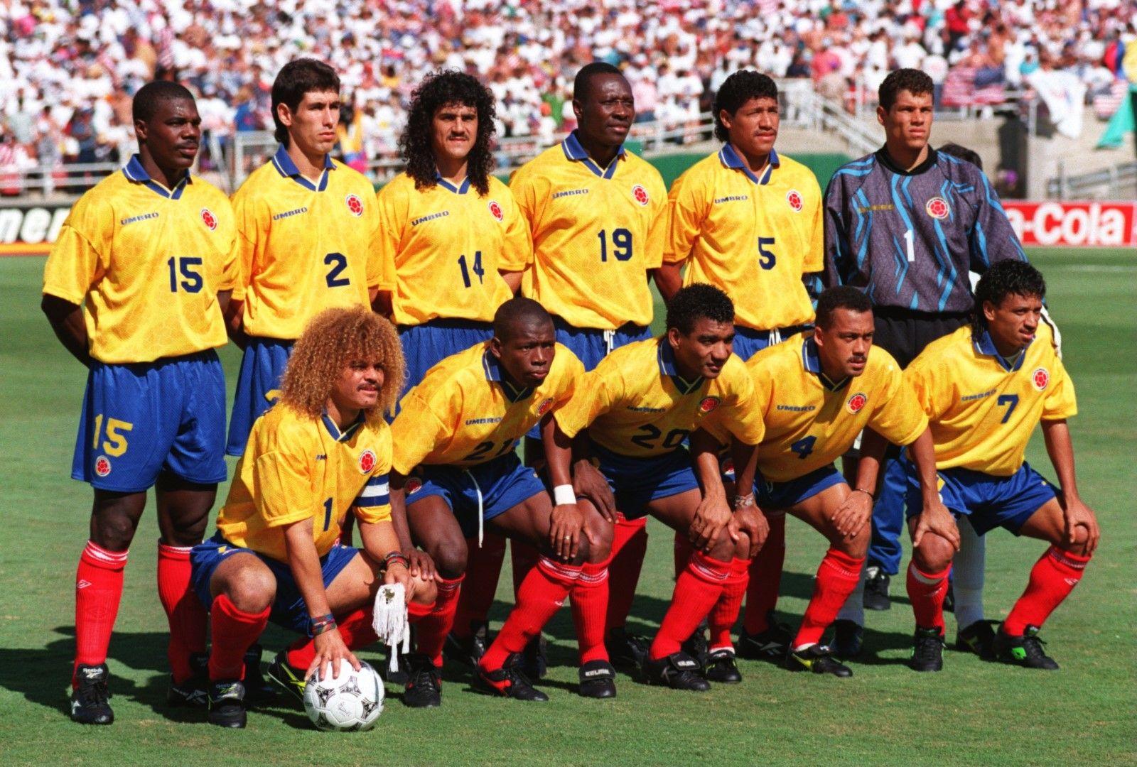 Колумбия - отборът преди мача срещу домакините на САЩ 94.