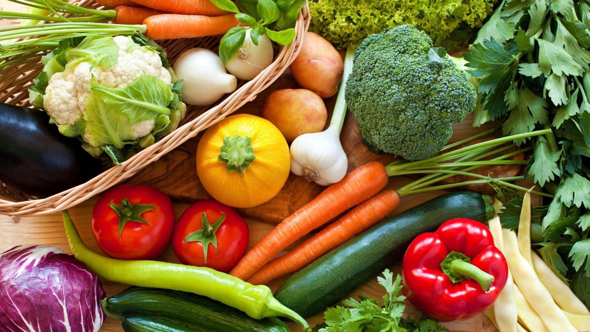 Зеленчуците ще намалеят с 30% заради глобалното затопляне