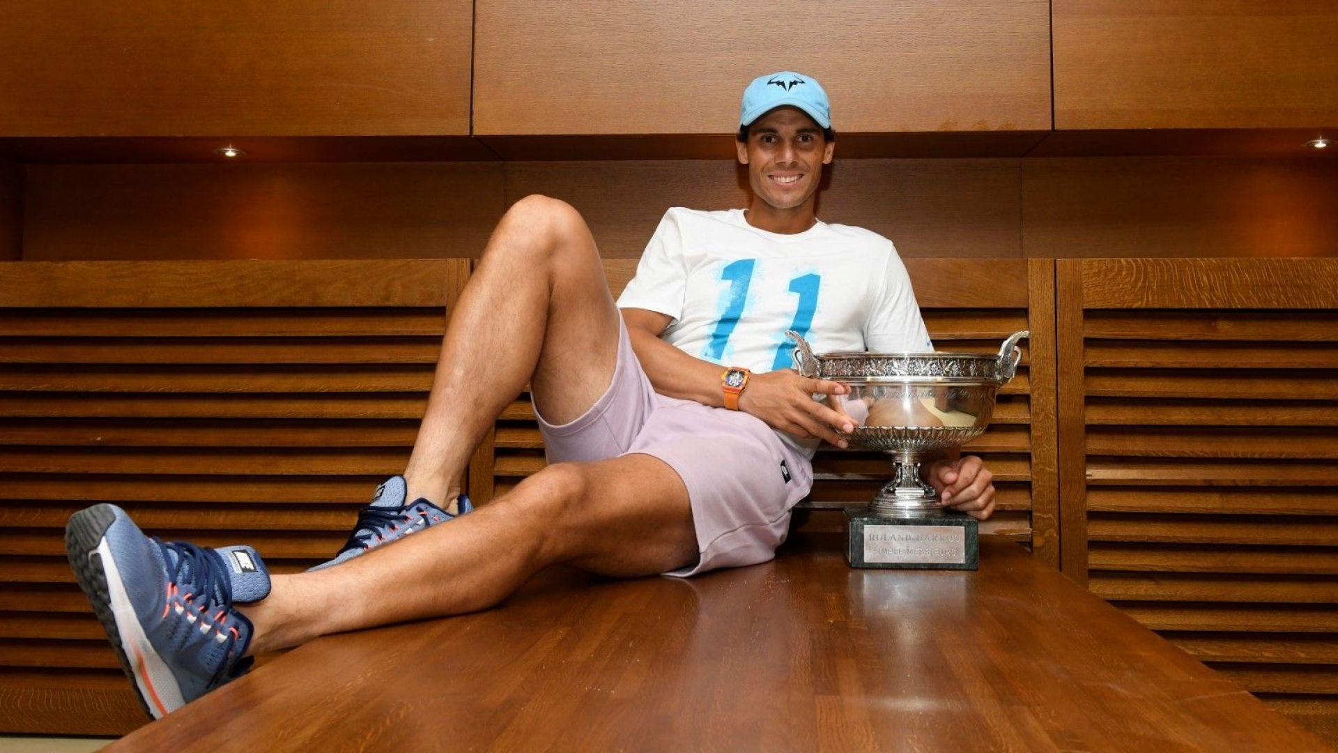 Интервюто на Рафа Надал: Мислех, че днес вече ще съм се отказал от тениса