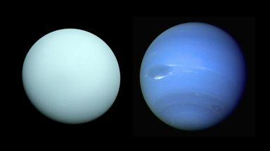 Обясняват странния състав на атмосферите на Уран и Нептун