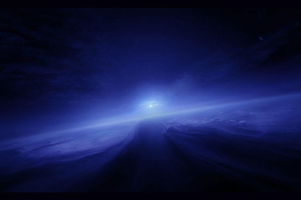 Така изглежда Слънцето, гледано от Нептун