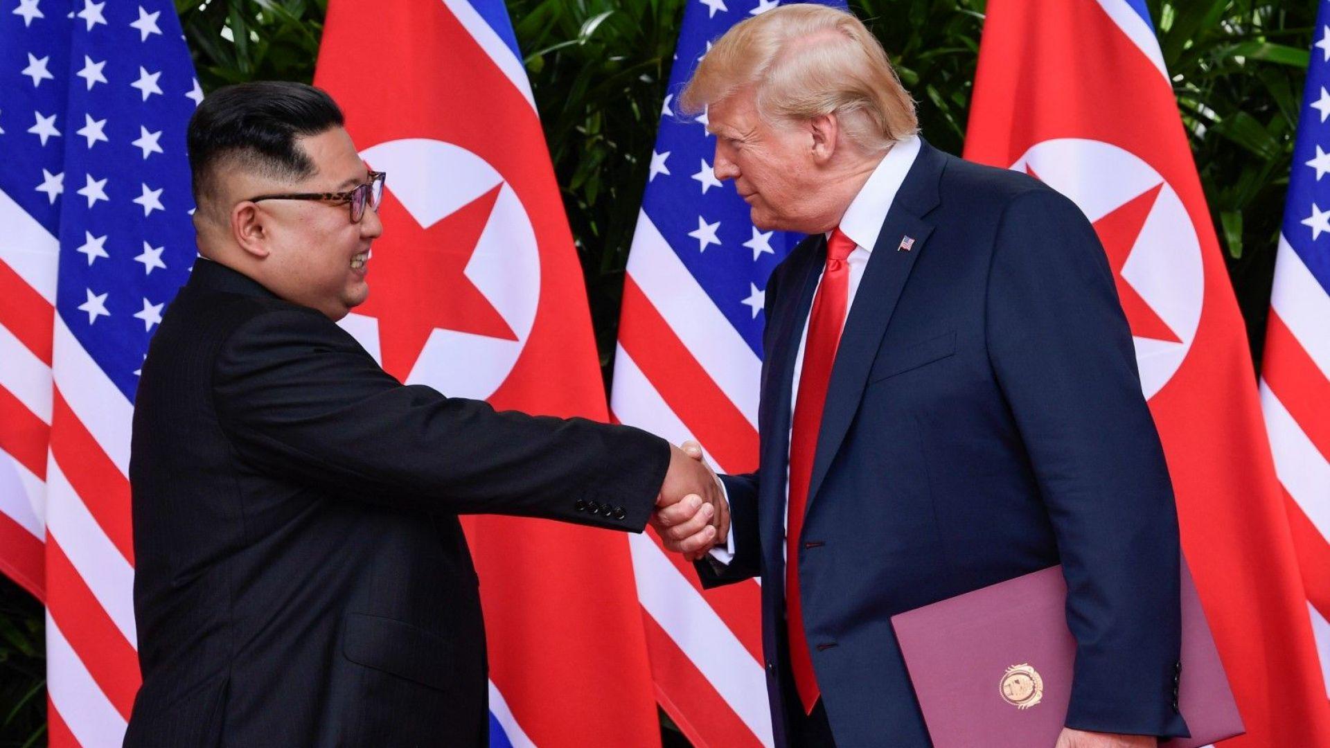 Да вярваш или да не вярваш на Тръмп и Ким. Това е въпросът