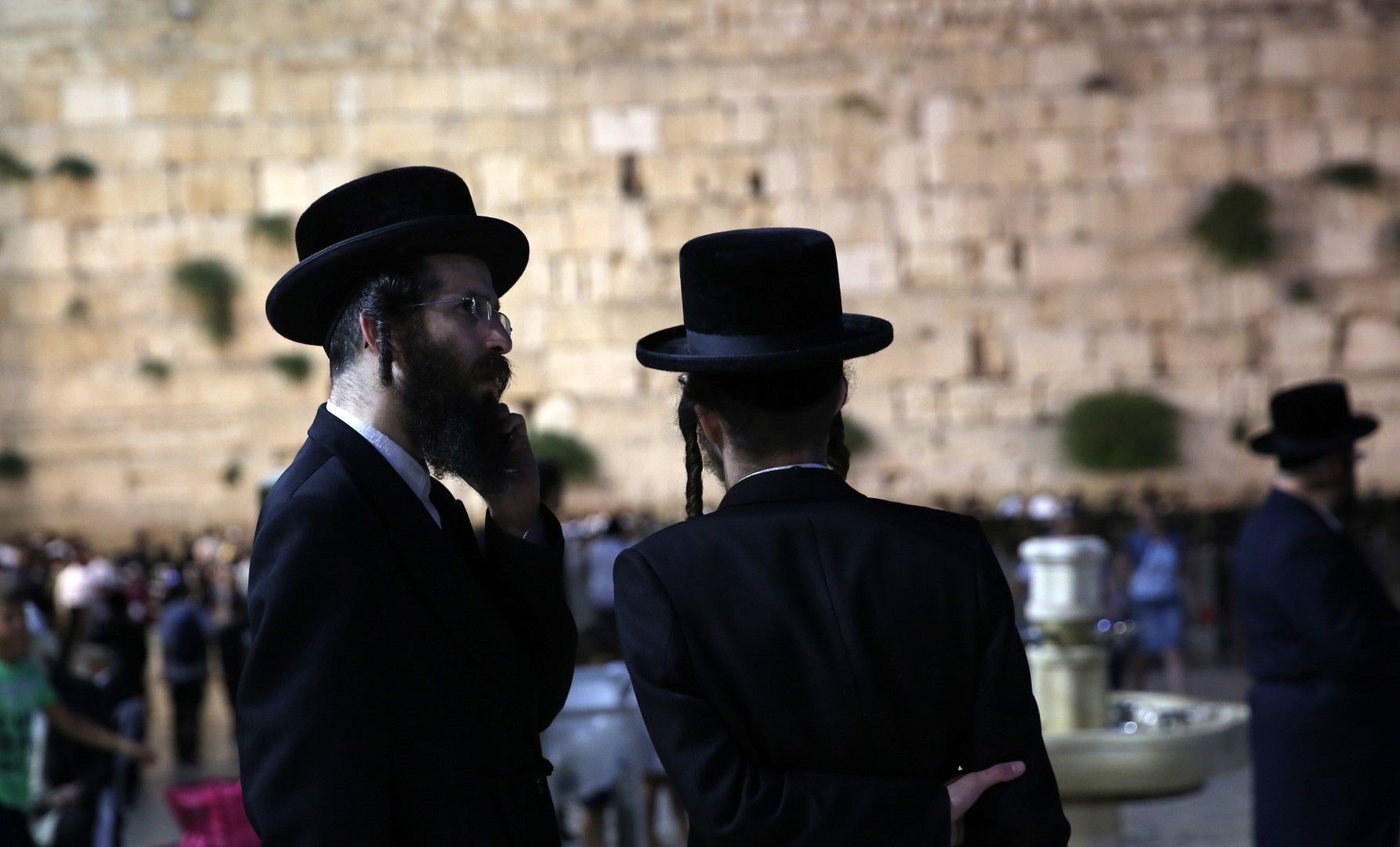 Стената на плача в Ерусалим