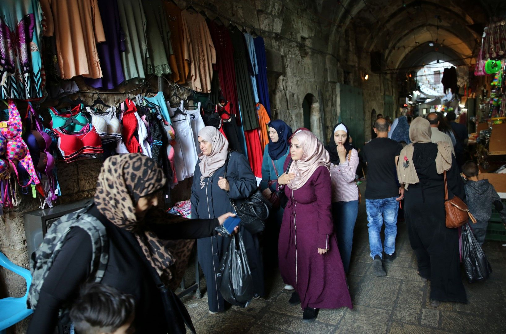 Пазар в стария Ерусалим