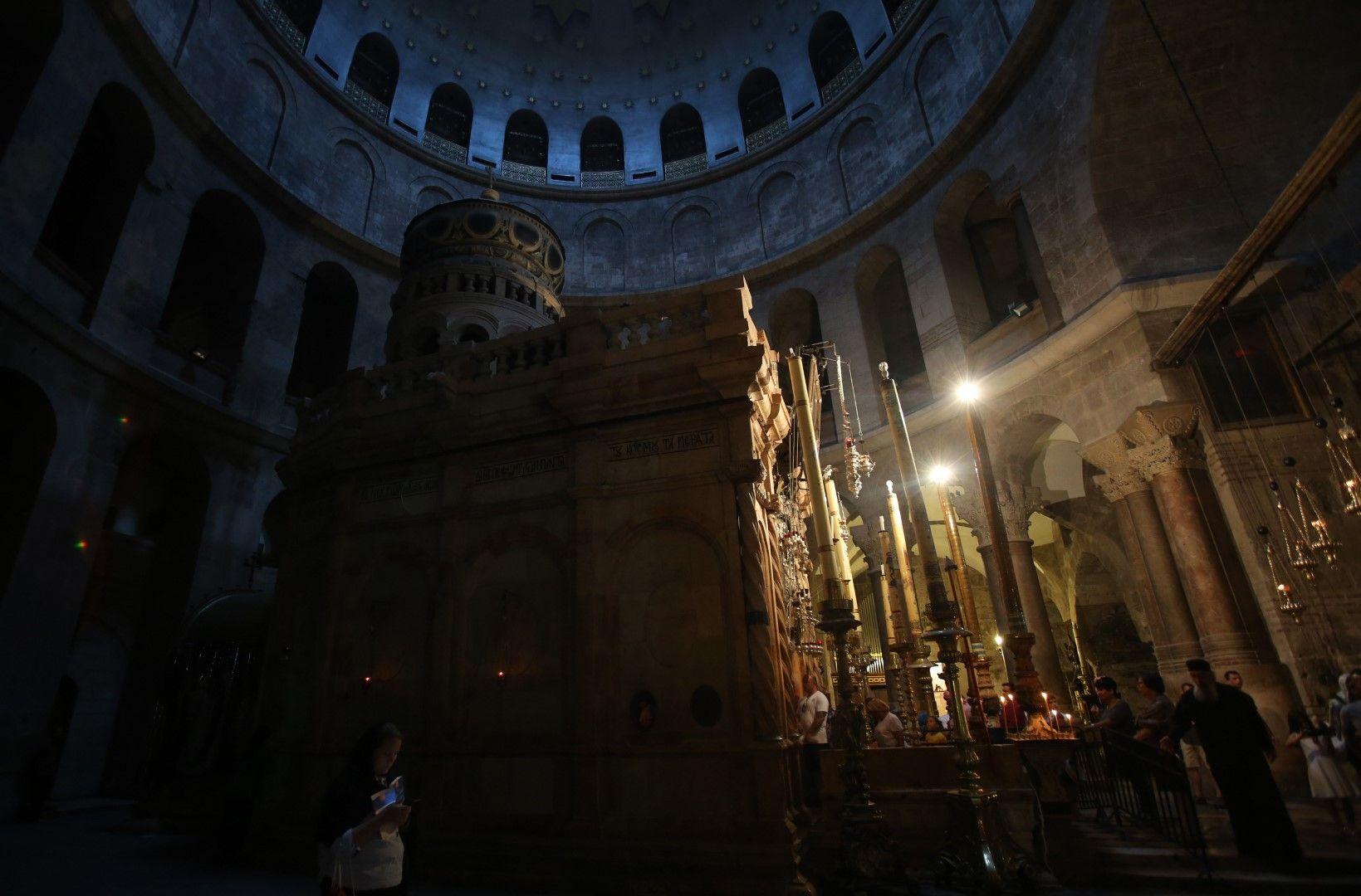 """Църквата """"Възкресение Христово"""", Божи гроб"""
