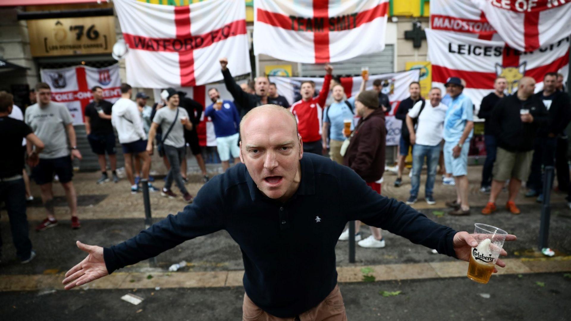 Англия спря 1254 доказани хулигани за Световното първенство