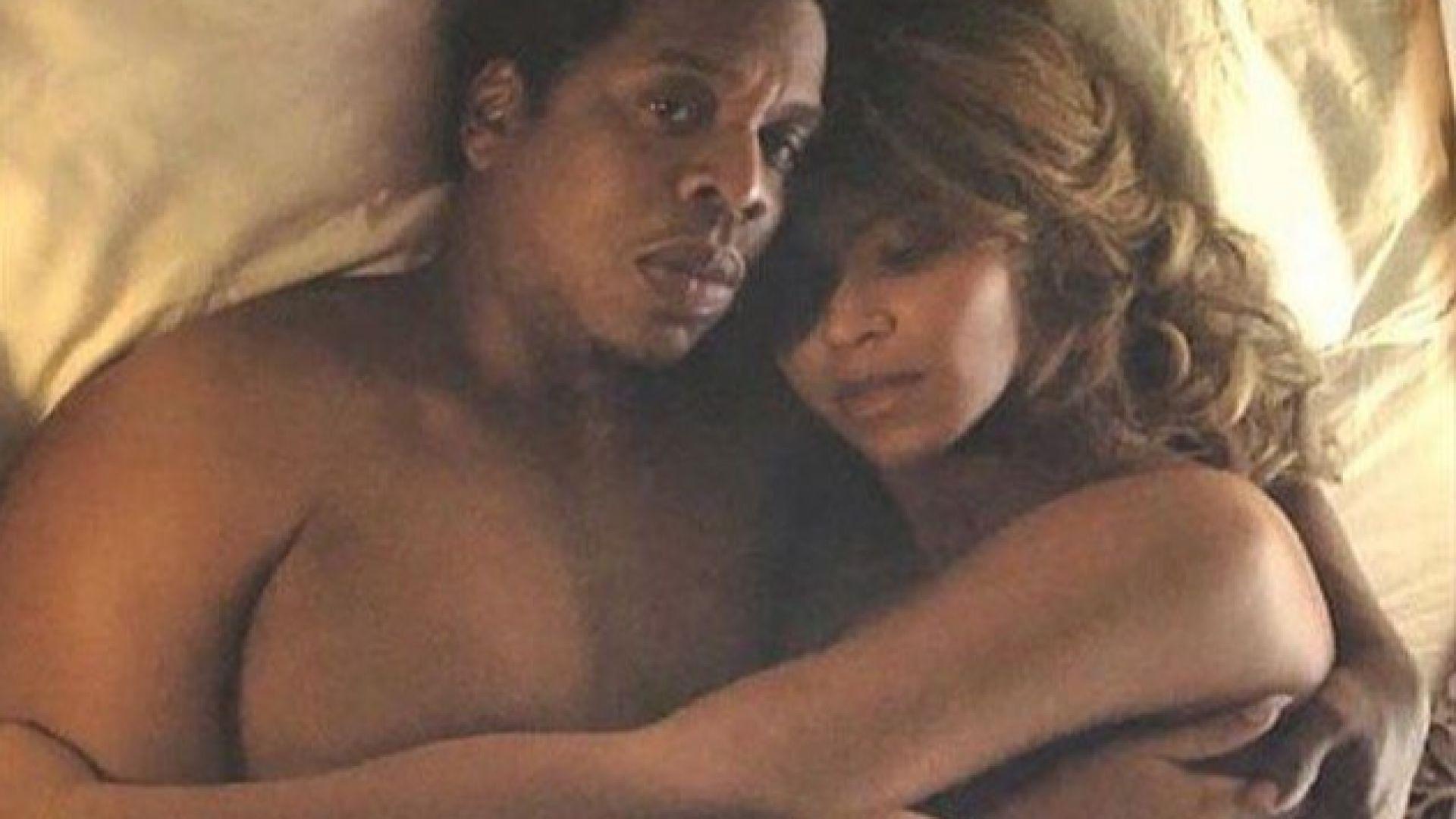 Бионсе и Джей Зи с голи кадри от леглото