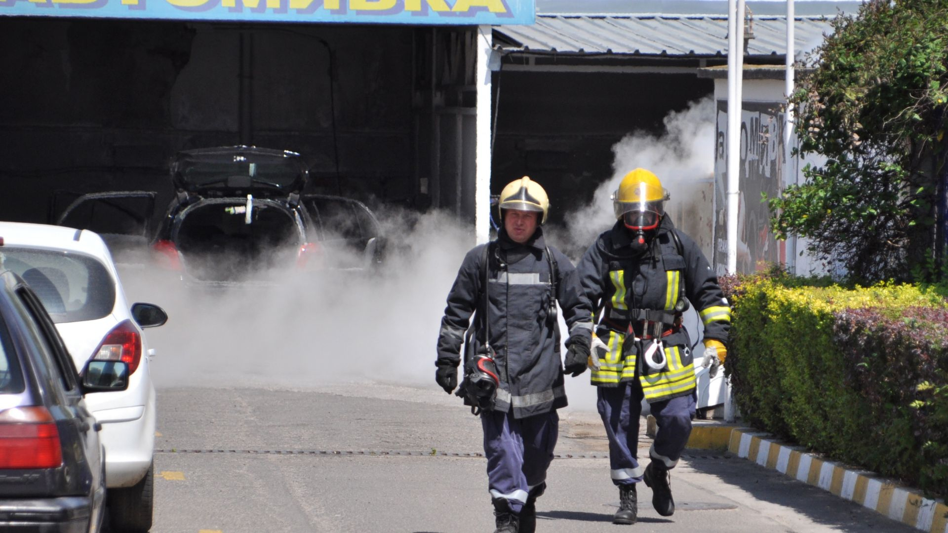 Пожарната е обезопасила теч на газ от бензиностанция в Хасково