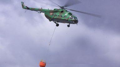 България остава без хеликоптер за гасене на пожари след катастрофата