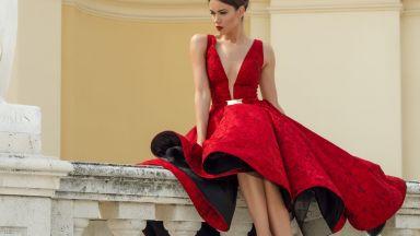 Съпругата на национала Михаил Александров с модна фотосесия в Австрия (снимки)