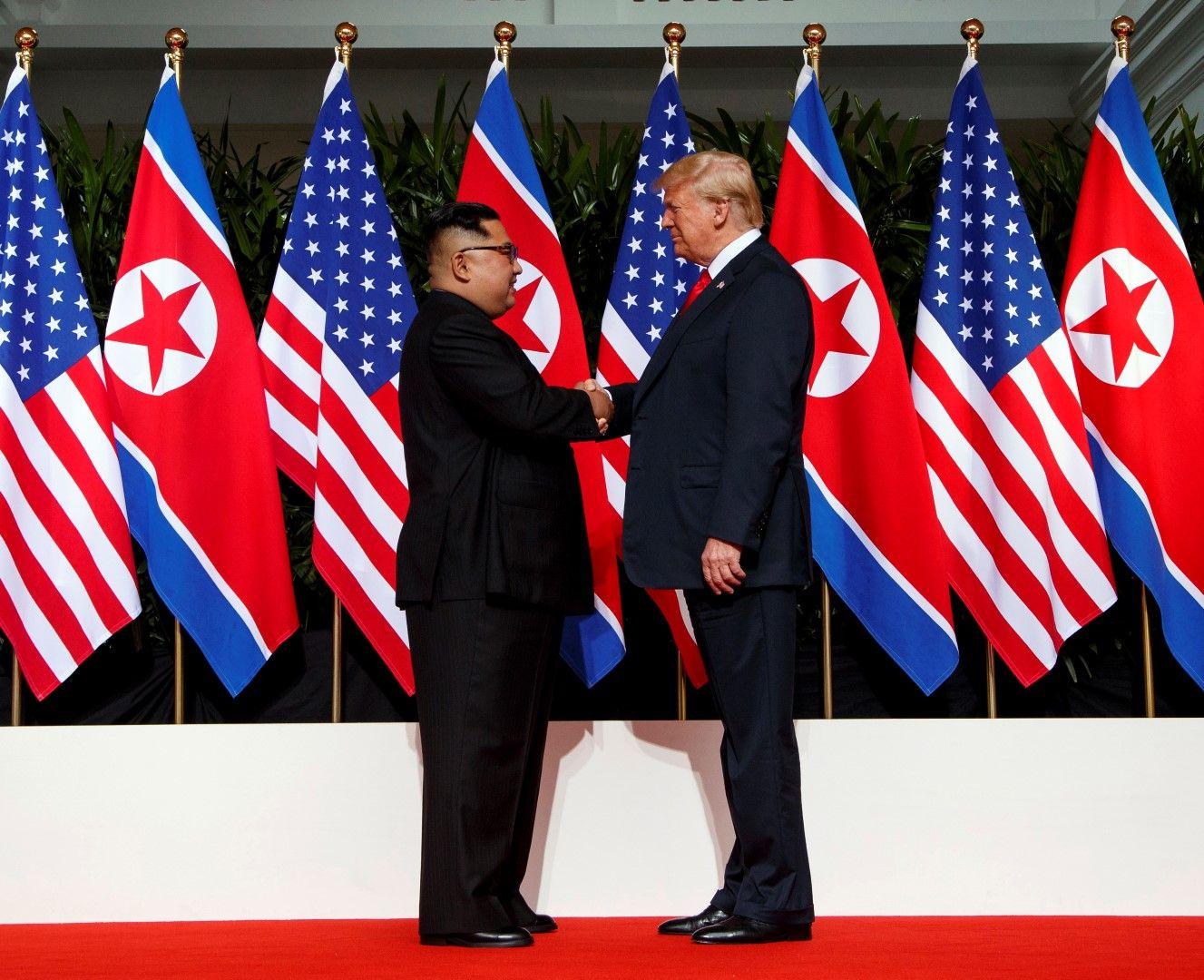 На практика Ким и Тръмп не договориха нищо конкретно