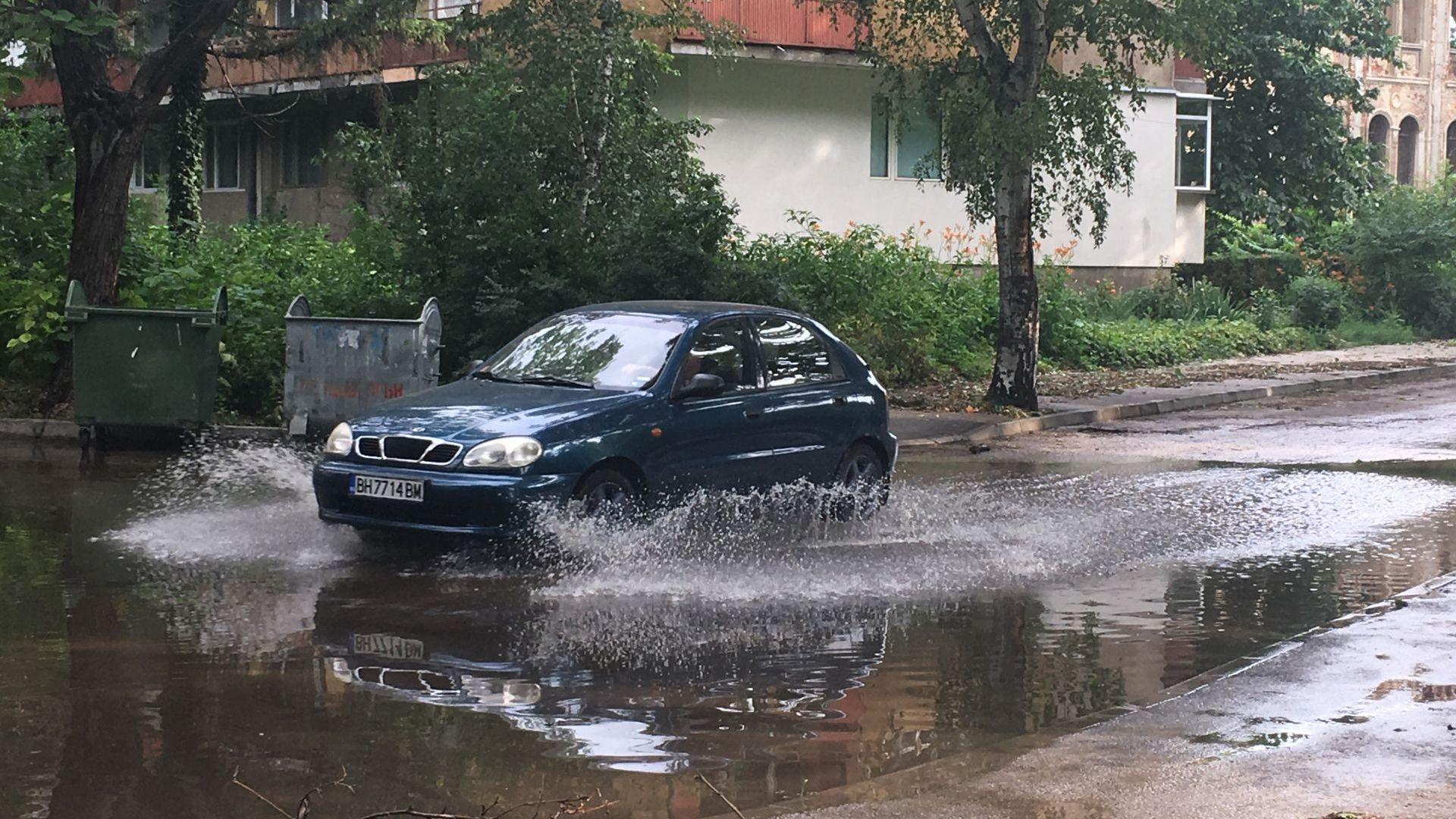 18 сигнала за наводнения след потопа във Видин