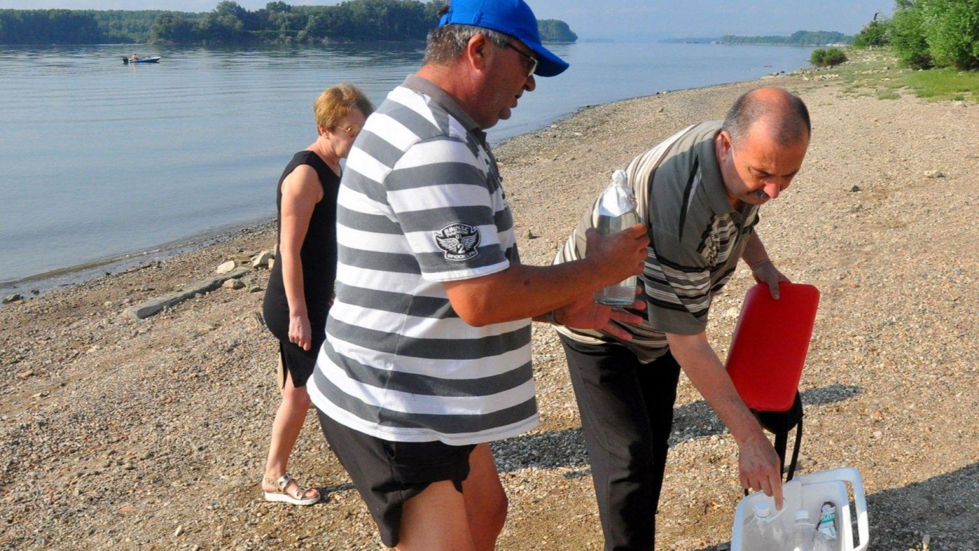 Здравната инспекция: Къпането в Дунав при Видин е опасно!