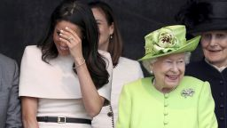 Меган с първа грешка на ангажимента с кралицата