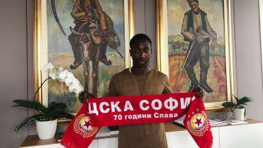 ЦСКА взе бивш младежки национал на Португалия