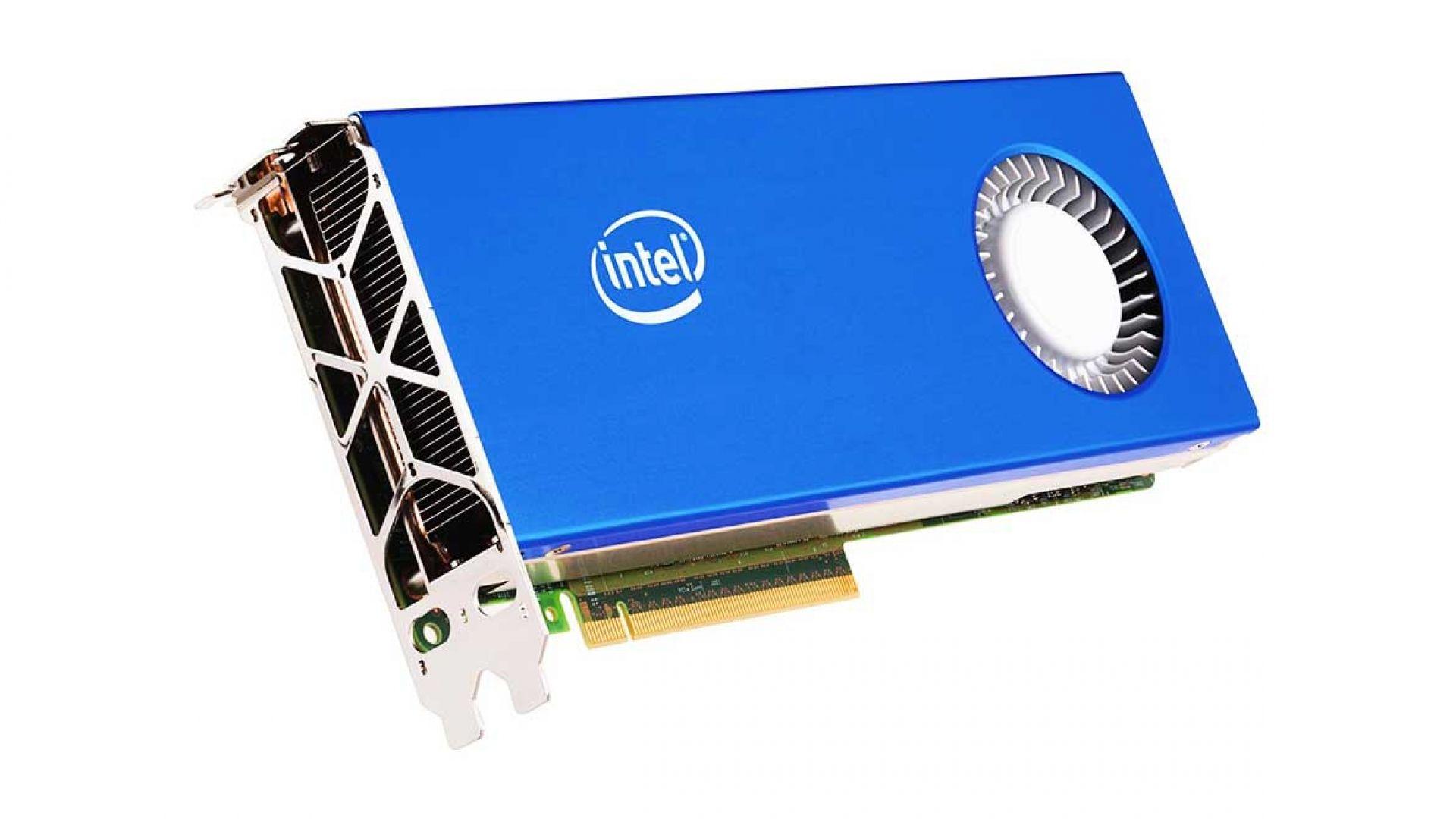 Intel вади собствени видеокарти