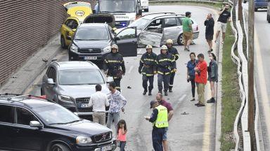 Виновникът за верижната катастрофа в София - пиян шофьор