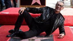 Джеф Голдблум получи звезда на Алея на славата в Холивид