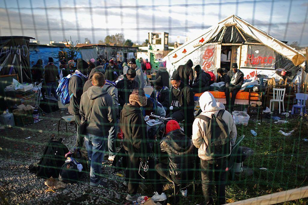 Това беше най-големият мигрантски лагер във Франция