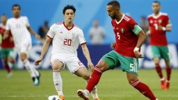 Мароко - Иран 0:1 (статистика)