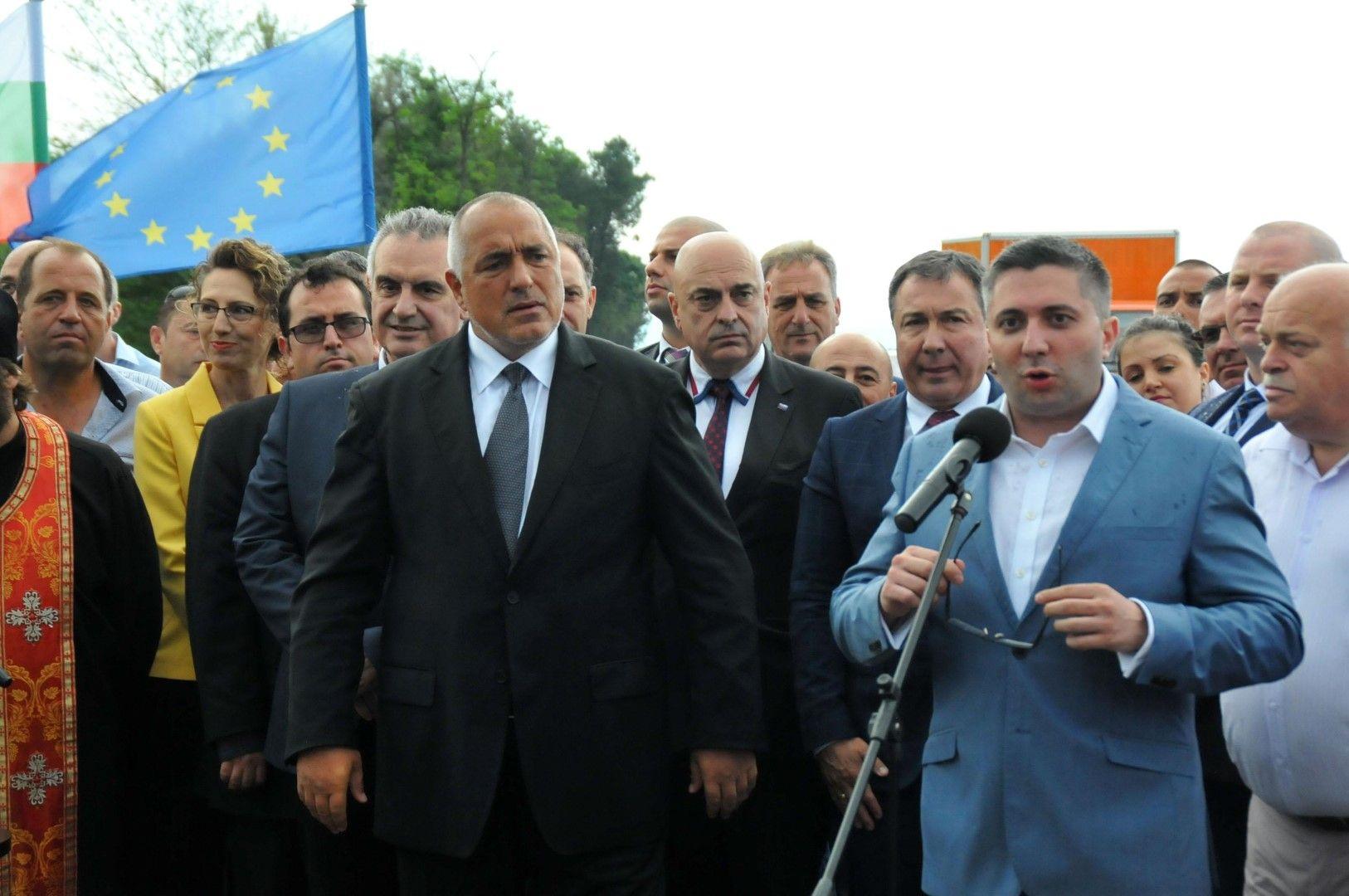 Премиерът Бойко Борисов и министър Николай Нанков присъстваха на откриването