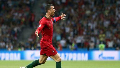 Голяма Испания, голям Роналдо, велик мач