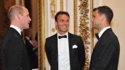 Григор Димитров се срещна с принц Уилям (снимки)