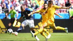 Франция - Австралия 1:1 (статистика)