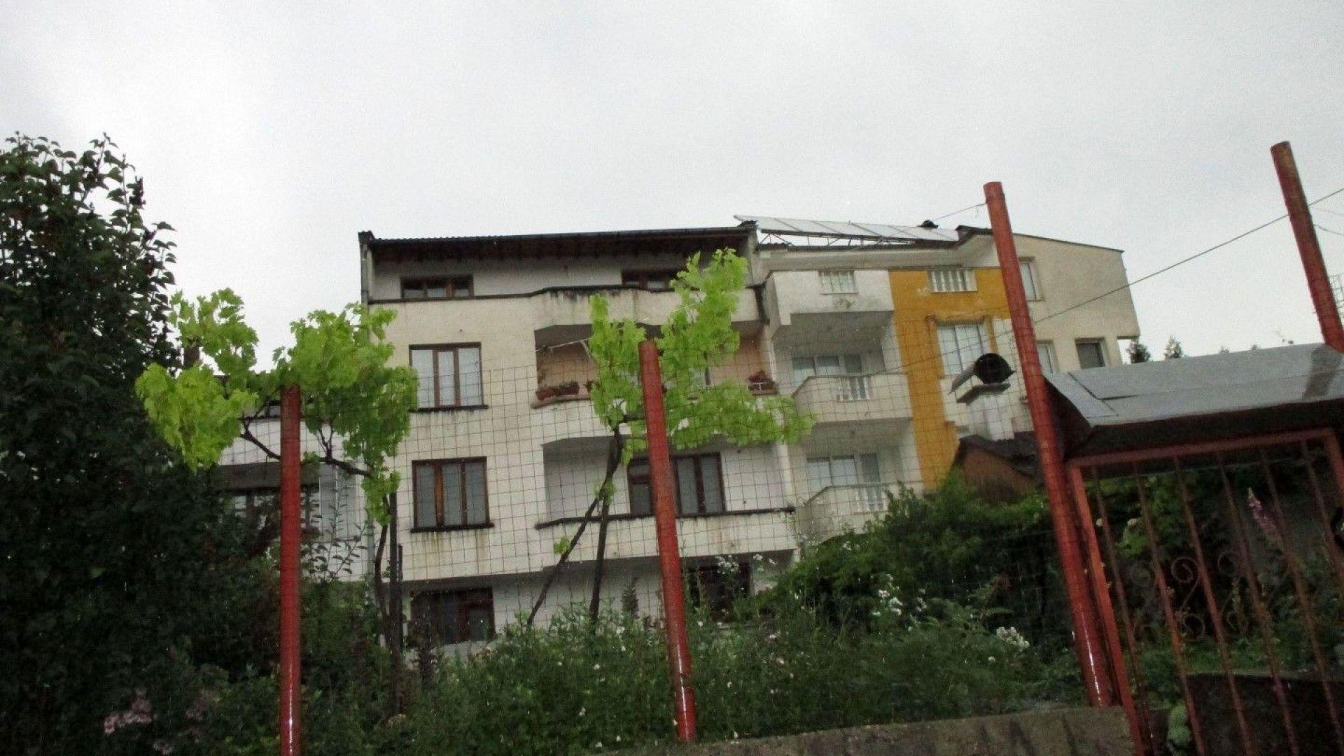 Жилището, където се е разиграла драмата с убийството от Метушев на приятеля му Колджиев