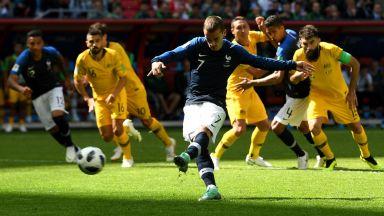 Видео повторение и късметът покриха слаба Франция на старта