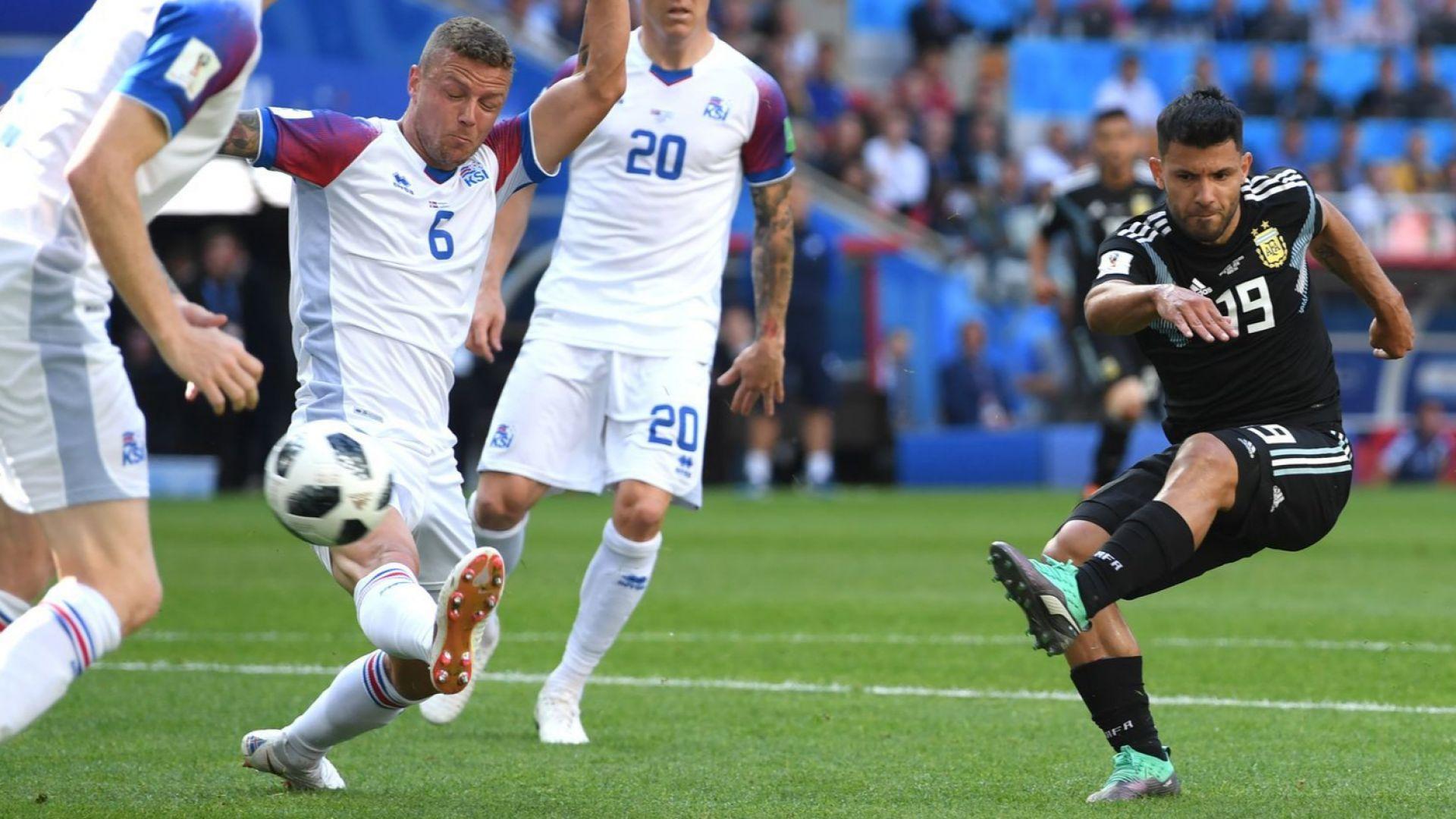 Аржентина - Исландия 1:1 (статистики)