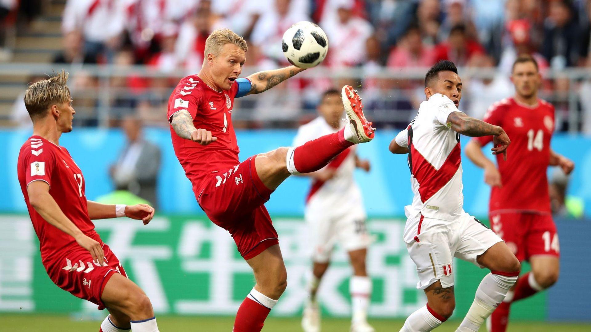 Перу - Дания 0:1 (статистики)